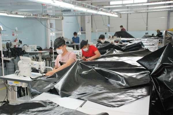 Tokat'tan Avrupa ülkelerine 1 milyon adet ceset torbası