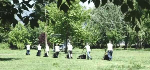 290 dönümlük mesire alanı hazır hale getirildi