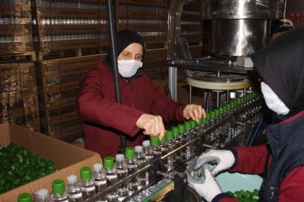 Korona virüs sürecinde 'Önce Vatan' dediler üretime devam ettiler