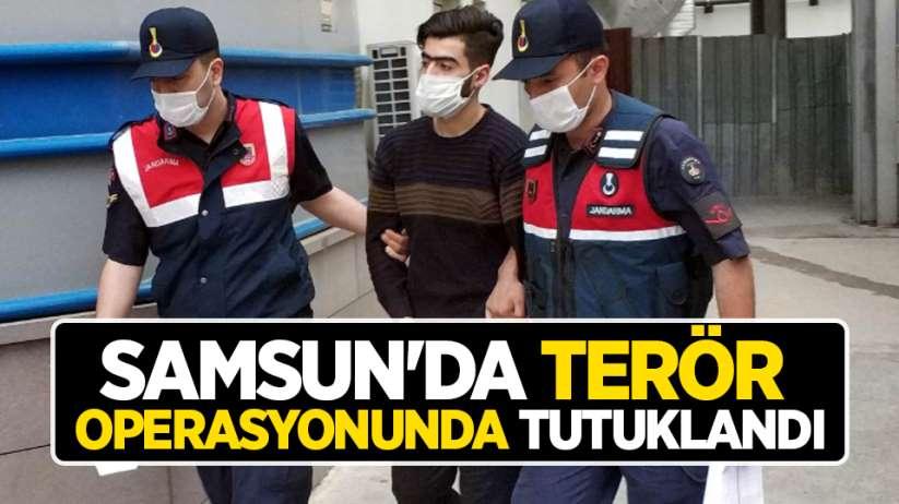 Samsun'da terör operasyonunda tutuklandı