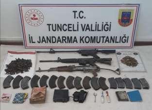 Tunceli'de bir ayda 2'si ödüllü listede 10 terörist etkisiz hale getirildi