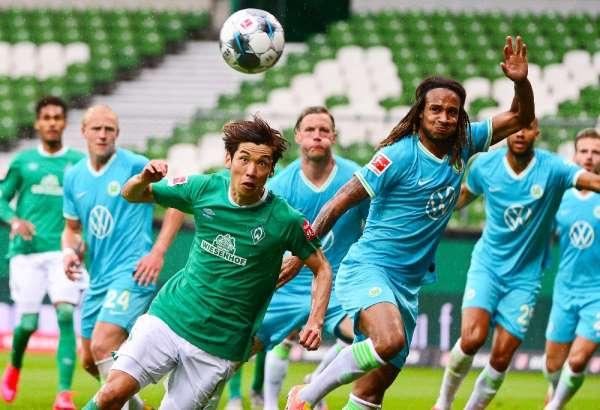 Wolfsburg, deplasmanda Werder Bremen'i tek golle geçti