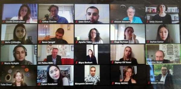Yaşar Üniversiteli öğrenciler Café Europa'ya konuk oldu