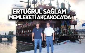 Ertuğrul Sağlam memleketi Akçakoca'da