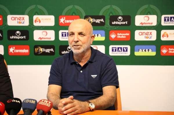 Hasan Çavuşoğlu: 'Alanyaspor olarak biz açıklanan limite karşı değiliz'