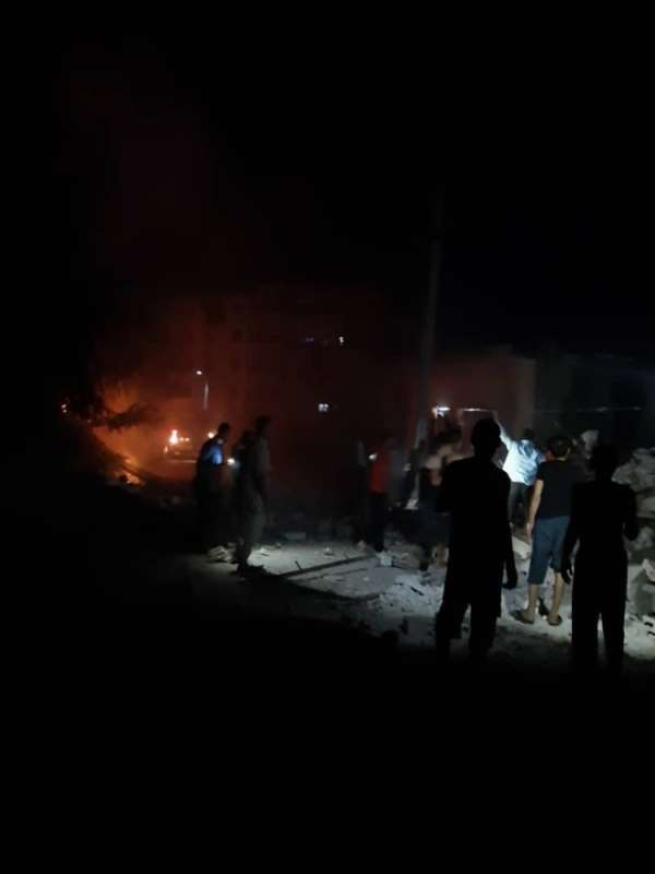 İdlib'de evde patlama: 1 ölü, 5 yaralı
