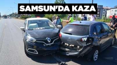 Samsun'da kaza