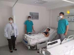 Maytap patlamasında yaralanan çocukların sağlık durumlarının iyi olduğu açıkland