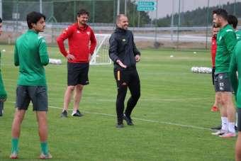 Bursaspor, milli maç arasını Bolu'da değerlendiriyor