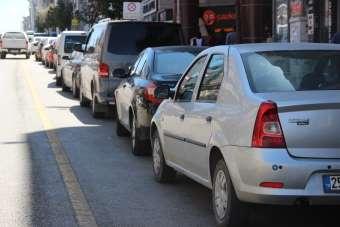 Erzurum'da 4 bin 228 araç devredildi