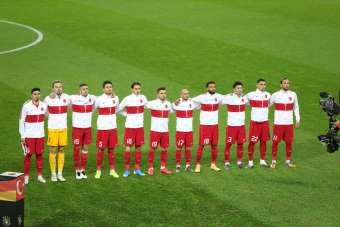 Hazırlık maçı: Almanya: 1 - Türkiye: 0 (İlk yarı)