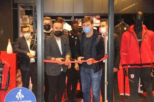 CityMall AVMde Samsunspor Store açıldı