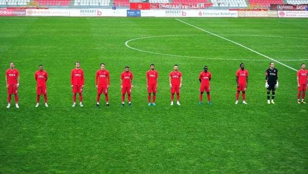 TFF 1. Lig: Ümraniyespor: 1 - Tuzlaspor: 1