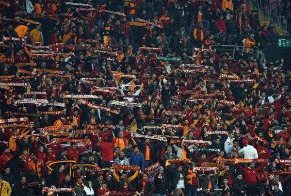 Galatasaray - Alanyaspor maçını 28 bin 711 seyirci izledi