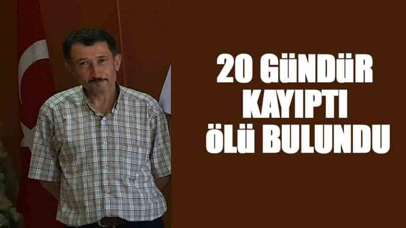 Giresun'da 20 gündür kayıp olan vatandaş ölü olarak bulundu