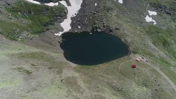 Giresun'un buzul gölleri büyülüyor