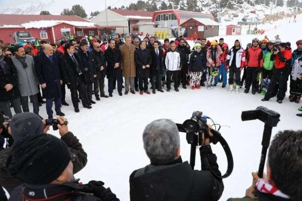 Alp Disiplini Kayak Ligi Eleme Yarışmaları ödül töreniyle sona erdi