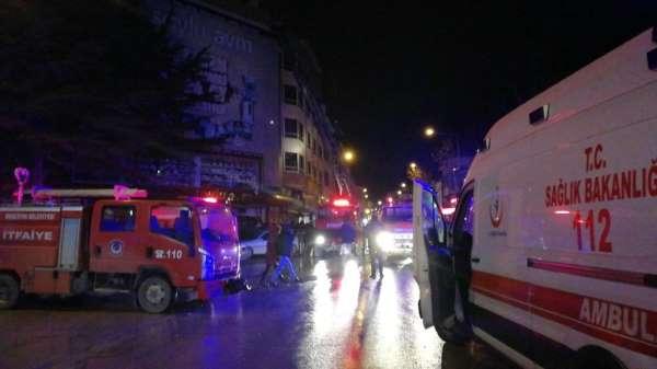Amasya'da iş yeri yangını: 6 kişi dumandan etkilendi
