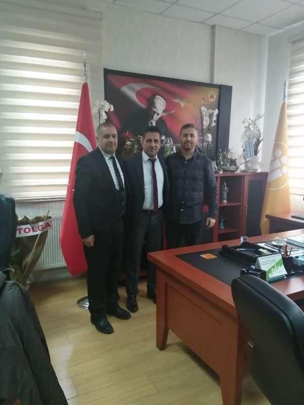 ASMYD'den Spor Bilimleri Fakültesi Dekanı Gündoğdu'ya ziyaret