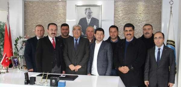 Bodrum ve Mumcular'dan Bölge Birliği Başkanı Saraç'a teşekkür ziyareti