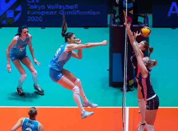 Filenin Sultanları, Olimpiyat Elemeleri'nde Hırvatistan'ı 3-1 mağlup etti