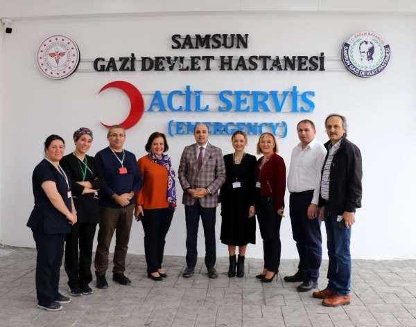 Gazi Devlet Hastanesi Acil Servisi yenilendi