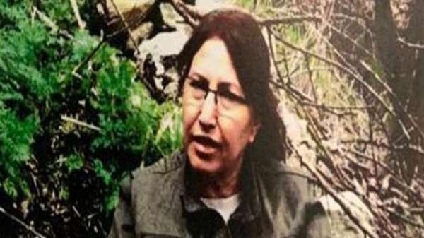 Terör örgütü PKK'nın en üst kadın yapılanması PAJK'ın sözde yöneticisi Esme Erat