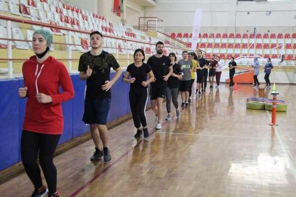 Dezavantajlı gençler spor ile tanışarak meslekleri için hazırlanıyor