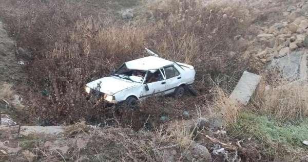Elazığda 2 ayrı trafik kazası : 5 yaralı