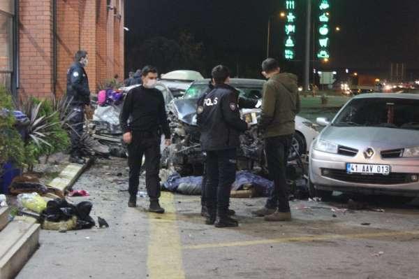 TEM Otoyolunda feci kaza: 1 ölü, 8 yaralı