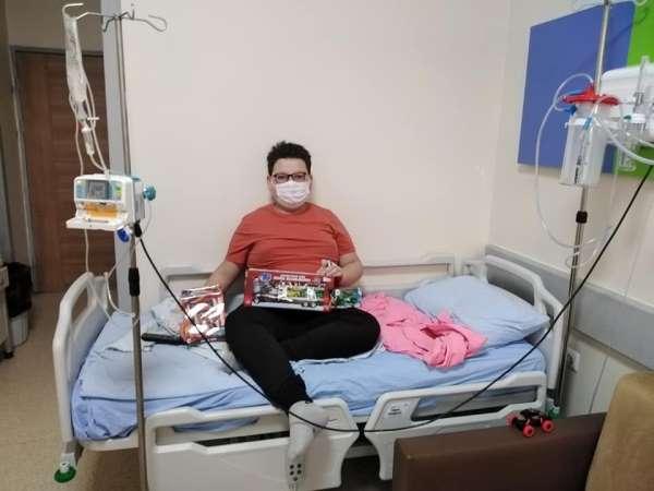 Samsunspor'dan korona virüse yakalanan 11 yaşındaki Vatan'a destek mesajı