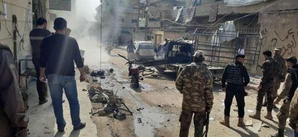 Afrin'de patlama: 1 ölü, 3 yaralı