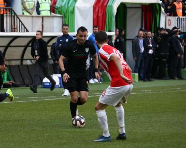 Amed Sportif Faaliyetler, sahasında kaybetti