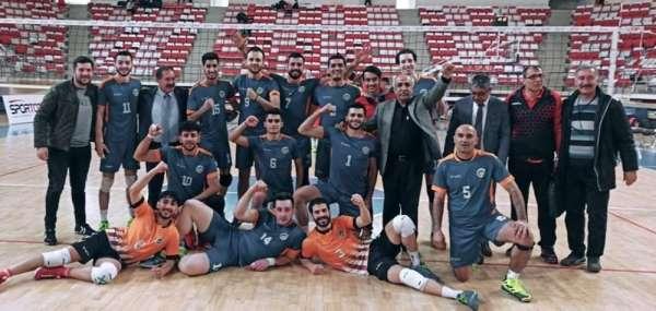 Büyükşehir Voleybol Takımı finale kaldı