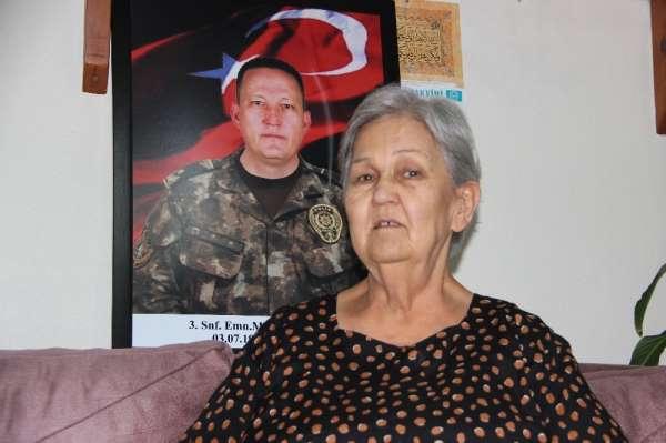 Cumhurbaşkanı Erdoğan'ın duygulandığı videoda konuşan şehit annesi, o anları anl