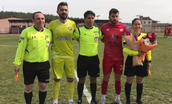 Gamze Ütangeç, 8 Mart Dünya Kadınlar Günü'nde ilk maçına çıktı