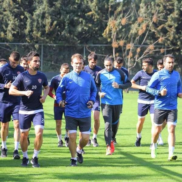 Hatayspor, Altay maçının hazırlıklarına başladı