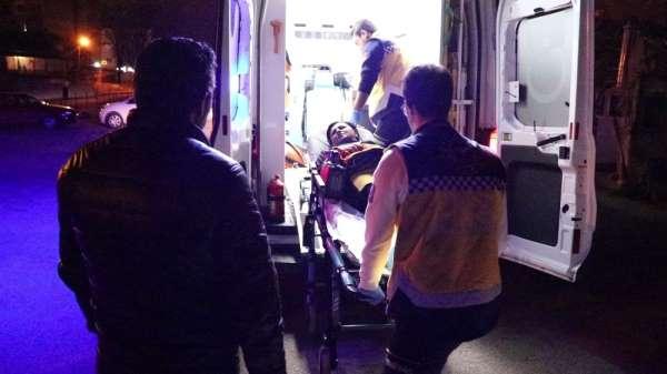 Karnından bıçaklanan kadın tedavi altına alındı