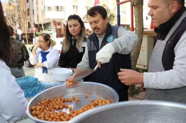 Manisa Büyükşehir personelinden şehitler için lokma hayrı
