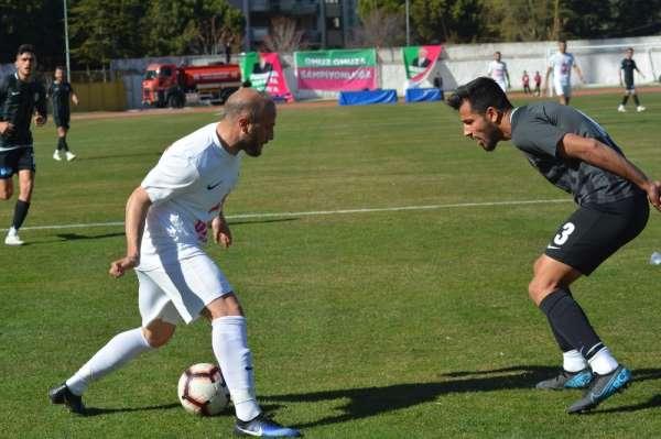 Seyircisiz maçta Isparta 32 Spor'dan galibiyet
