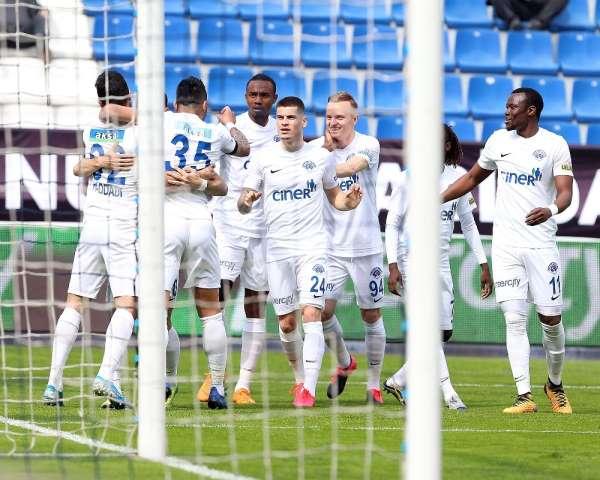 Süper Lig: Kasımpaşa: 5 - Kayserispor: 1 (Maç sonucu)