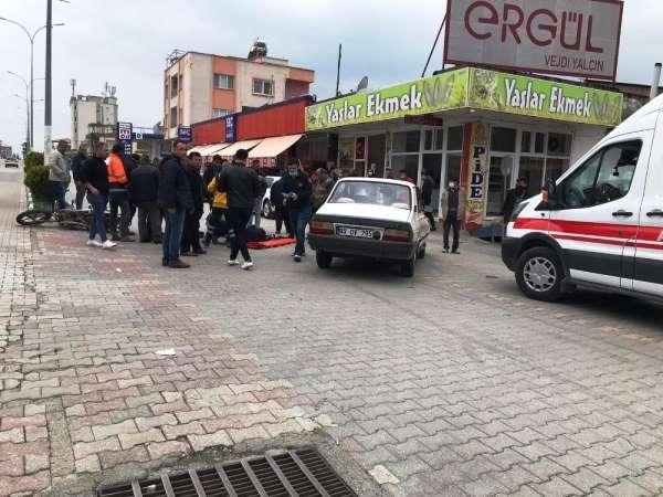 Düziçi'nde Trafik kazası:1 yaralı
