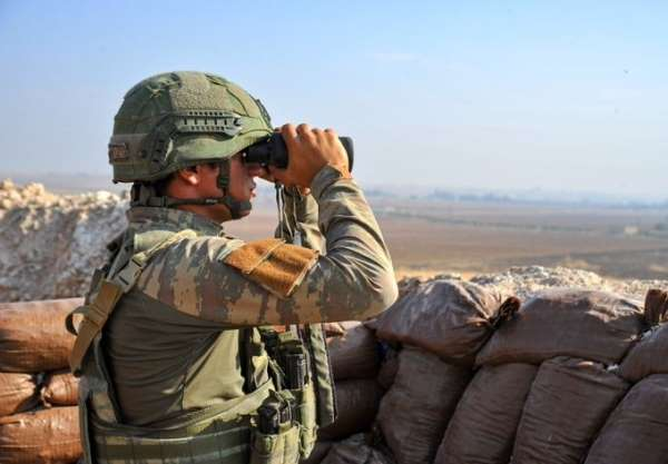MSB: 'Fırat Kalkanı bölgesine taciz atışı yapan 4 PKKYPG'li terörist ile Zeytin