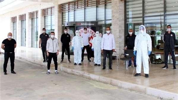 Antalyaspor'da korona virüs testleri negatif çıktı