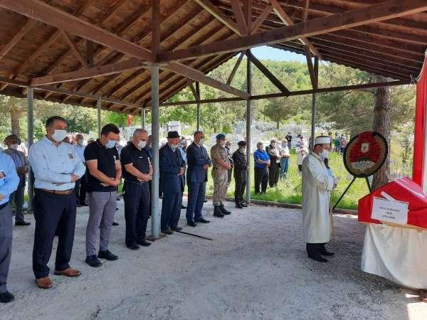 Almanya'da hayatını kaybeden Kore gazisi, Tokat'ta toprağa verildi