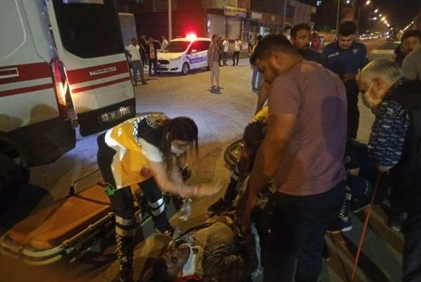 Ceylanpınar'da kaza: 1 yaralı