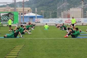 Giresunspor, Adanaspor maçı hazırlıklarını sürdürüyor