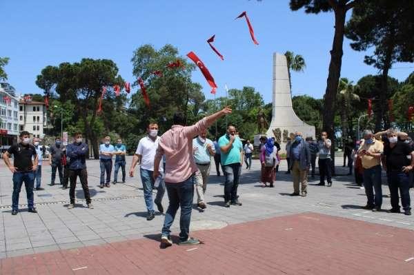 Pazarcılardan Ünye Belediyesine tepki