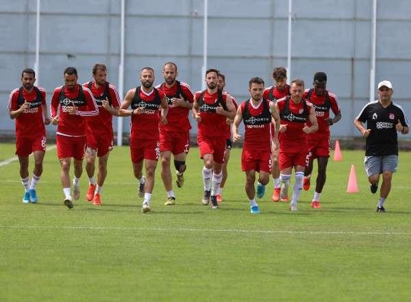 Sivasspor, Denizlispor hazırlıklarını sürdürüyor