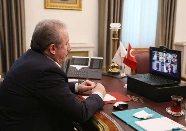 TBMM Başkanı Mustafa Şentop canlı yayında OMÜlü gençlerle sohbet etti